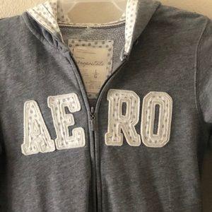 Areo 1/2 zip hoodie